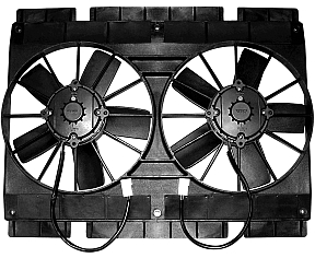 Maradyne Mach 2 Dual 11-Inch Fans Can Even Keep Big Blocks Cool