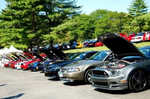 Video: American Muscle Car Show Brings In 1200+ Mustangs