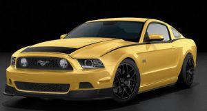 2013 Ford Mustang RTR Color Options Released