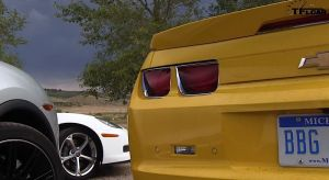 Video: TFLCar Compares Camaro ZL1, a Corvette, and a Porsche Cayenne