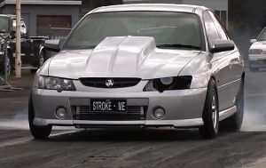 Video: Boosted Commodore SS Runs 9.8 at 143 MPH In Australia