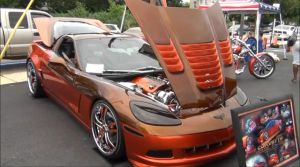 Orange And Brown: 820 Horsepower ProCharger Equipped C6 Corvette