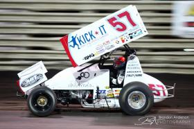 Shane Stewart Becomes First 4-Time 360 Knoxville Nationals Champ