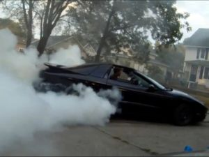 Video: 454 LSx Trans Am Puts On Spectacular Suburban Smoke Show