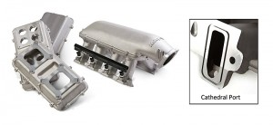 Holley Hi-Ram Intake For Cathedral Port/LS7 Carb or EFI Engines