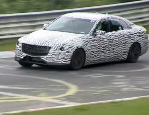 Video: 2014 Cadillac CTS Spotted Testing, Twin-Turbo V6 Confirmed