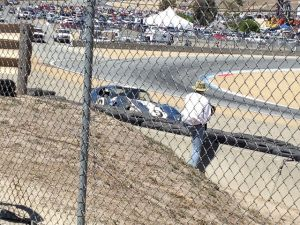 Rare $4 Million Shelby Daytona Crashes During Vintage Race