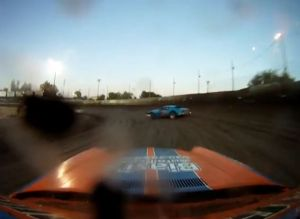 Video: Watch A Dirt Track Camaro Race From Start To Finish