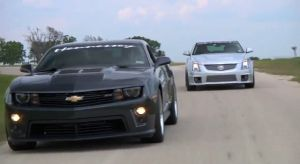 Video: DRIVE Takes on the Hennessey HPE700 ZL1 and CTS-V Wagon
