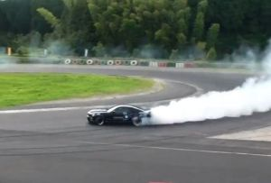 Video: Drifting A Shelby GT500 Through Japan