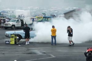 Video: 2012 Mopar Nats Burnout Contest Winner