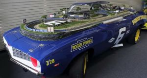 Video: 1969 Camaro Converted Into Slot Car Track…Cuz Why Not?