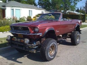 eBay Find of the Day: '68 Ford Mustang 4×4 Convertible