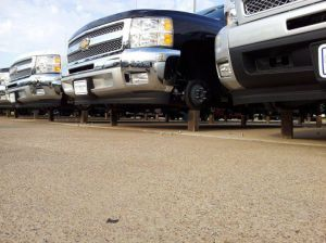 Dealership Thieves Steal 76 Chevy Wheels, Leave 19 Trucks On Block