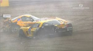 Amazing Footage of Viper/Corvette Crash from the Supercar Challenge