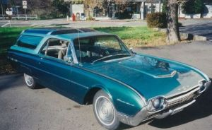 A Closer Look At A 1962 Ford Thunderbird&#8230;Station Wagon?