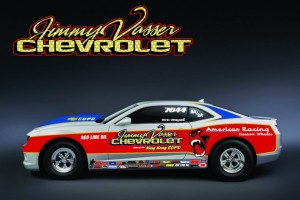 Jimmy Vasser Chevrolet To Field COPO Camaro At U.S. Nationals