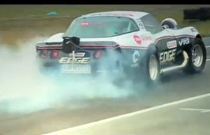 Video: Watch the Insane VTG Corvette Smoke All 4 Drag Radials