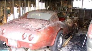 Wrecked Vette Wednesday: Chicago Garage Fire Destroys Stingray