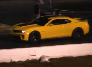 Video: Camaro ZL1 Fail At The Drag Strip