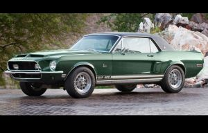 "Unique ""Green Hornet"" Shelby Mustang Will Go To The Highest Bidder"