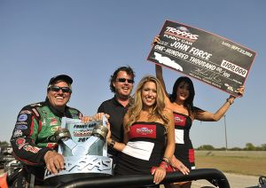 John Force Earns $100,000 Traxxas Nitro Shootout Victory