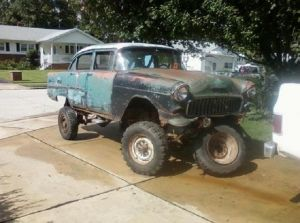 eBay Find of the Day: A '55 Chevy Sedan 4×4