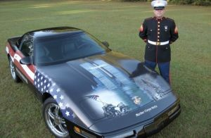 "Video: C4 ""Marine Corps-Vette"" Pays Tribute to 9/11 Victims"