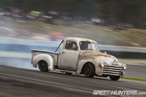 1949 Chevy Pickup with LS Power and C5 Chassis