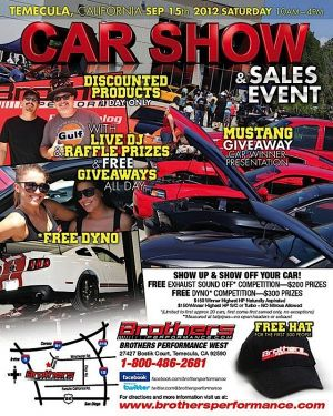 Brothers Performance Hosts Car Show In SoCal!