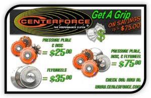 Save Money On Centerforce Clutch Kits This Fall