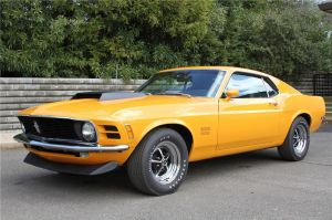 1970 Mustang Boss 429 Heading To Auction