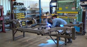 Video: Street Shop Uses CAD To Make '53-82 Vette Chassis