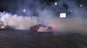 Video: Holden Ute Representing At The Perth Burnout Competition