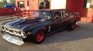 Menacing '72 Nova Gets SCCA Themed