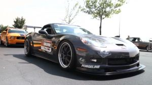 Video: LG Motorsports Corvette at the OPTIMA Challenge