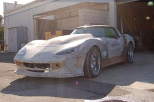 A 1978 Corvette With A Ford Modular V8?