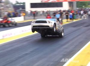 Video: Chris Holbrook&#8217;s Cobra Jet Pulls A Wicked Wheelstand