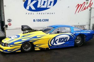 NHRA Pro Mod Racer Mike Janis Unveils K100 As New Primary Sponsor