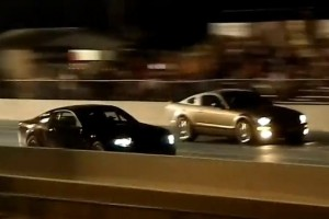 Video: Shelby GT500 VS. Mustang Cobra Jet