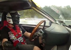 Video: Ride Along Inside Vaughn Gittin Jr's Fox-Body Mustang