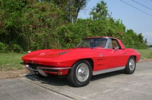 Rare 63 Corvette Pilot Car Heading To Auction