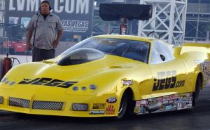 Sneak Peek: Troy Coughlin's New C-6 Pro Mod On The Track