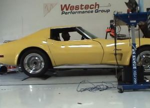 Video: 1974 Corvette Lays Down Big Power On The Dyno