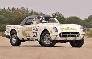 Three Time NHRA World Champion Corvette Hits The Auction Block