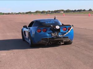 "Video: Twin-Turbo LMR Corvette Wins ""King of the Streets"""