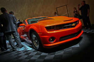 SEMA 2012: Chevrolet Reveals No. 69 COPO Camaro Convertible