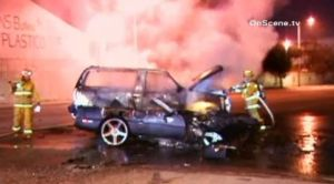 Wrecked Vette Wednesday: A C4 And An SUV Collide In Los Angeles
