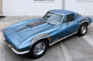 Neil Armstrong's Corvette To Be Preserved As-Is