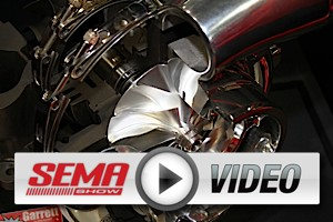 SEMA 2012: Garrett Turbos for Every Engine, Large and Small
